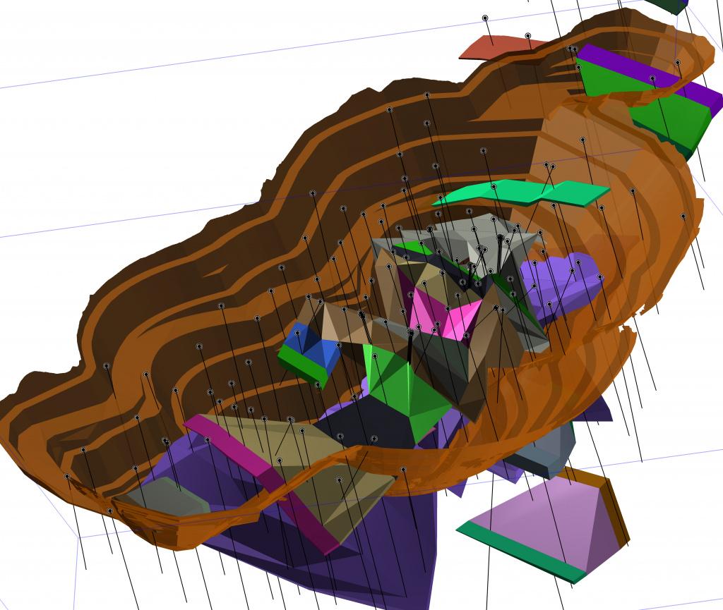 Блочные геолого-экономические модели месторождений